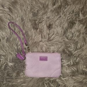 Coach Wristlet Purse - Purple